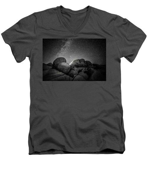 Illuminati IIi Men's V-Neck T-Shirt by Ryan Weddle