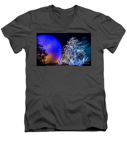 Illuminations Reflections Of Earth Men's V-Neck T-Shirt
