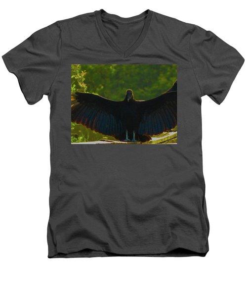 Im Batman Men's V-Neck T-Shirt by Kimo Fernandez