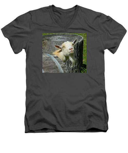 I'm Lucy - I Like You Men's V-Neck T-Shirt by Emmy Marie Vickers