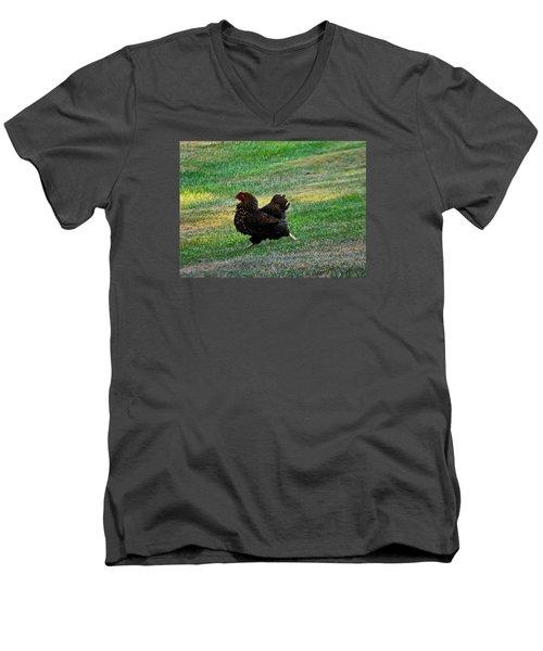 I'm Outta Here  Men's V-Neck T-Shirt
