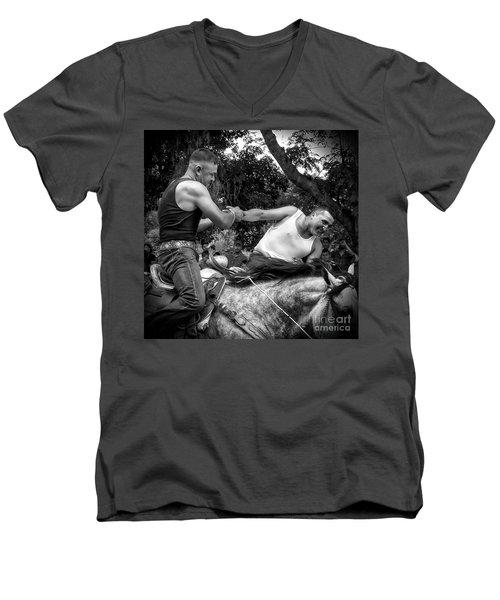 I'm Winning The Pull Men's V-Neck T-Shirt