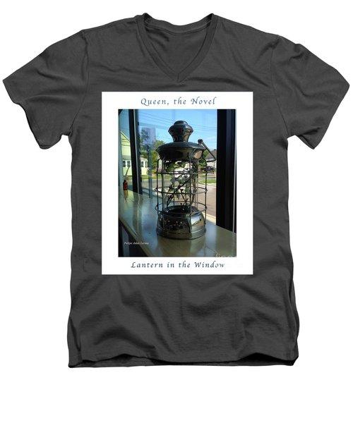 Image Included In Queen The Novel - Lantern In Window 19of74 Enhanced Poster Men's V-Neck T-Shirt
