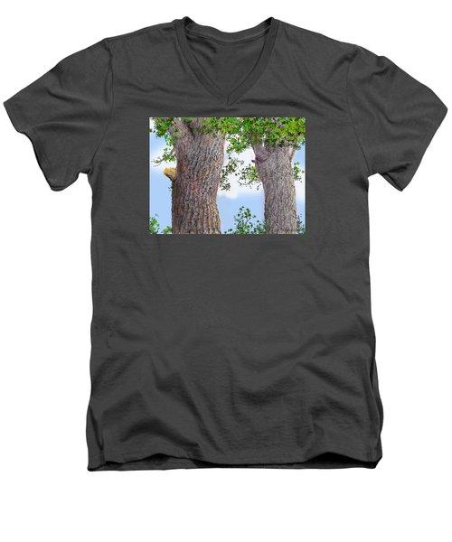 Imaginary Trees Men's V-Neck T-Shirt