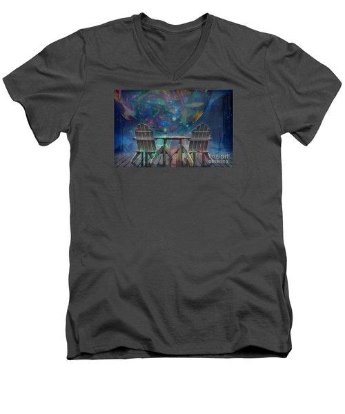 Imagine 2015 Men's V-Neck T-Shirt