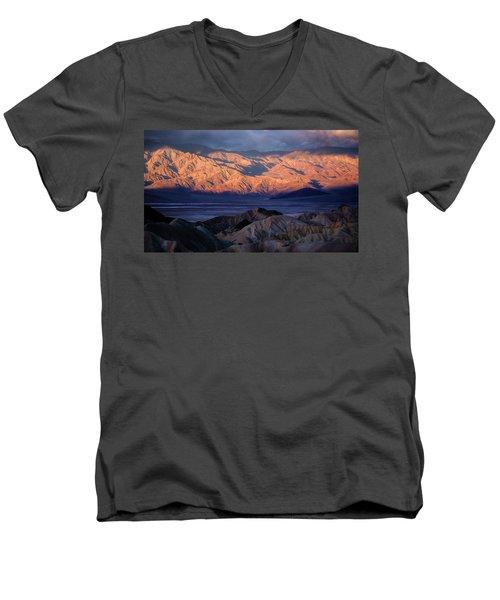 Imagine Men's V-Neck T-Shirt by Bjorn Burton