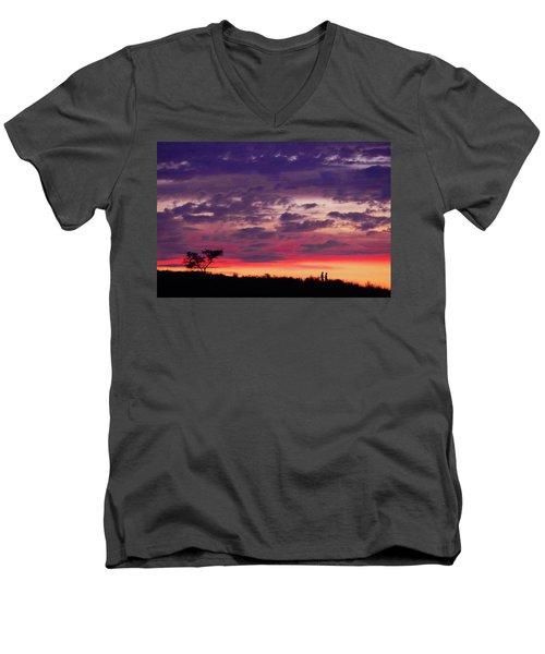 Imagine Me And You Men's V-Neck T-Shirt