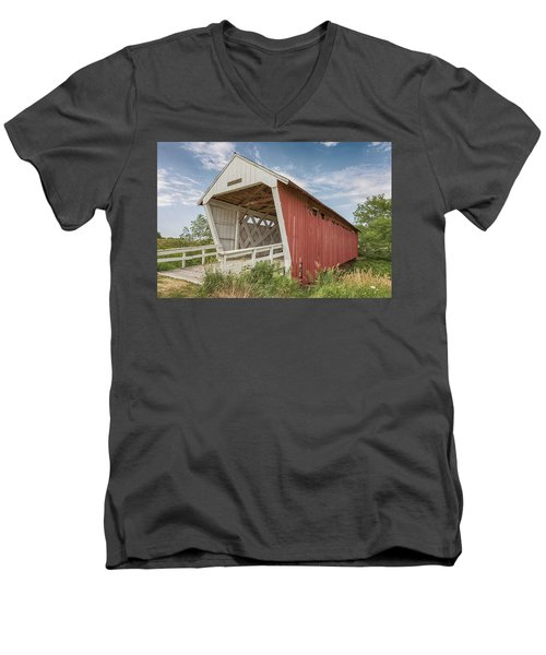 Imes Covered Bridge Men's V-Neck T-Shirt
