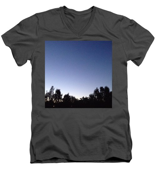 Evening 2 Men's V-Neck T-Shirt by Gypsy Heart