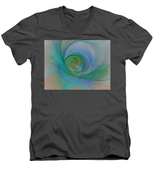 Impallid Men's V-Neck T-Shirt