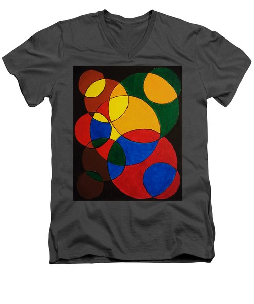 Imperfect Circles Men's V-Neck T-Shirt