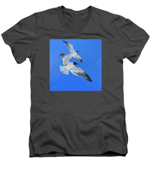 Impervious Men's V-Neck T-Shirt