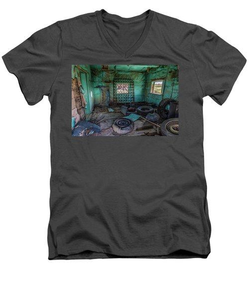 In A Shambles Men's V-Neck T-Shirt