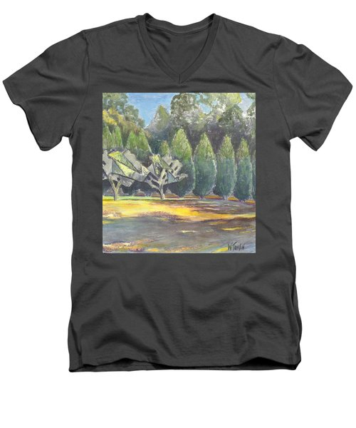 In Between Men's V-Neck T-Shirt