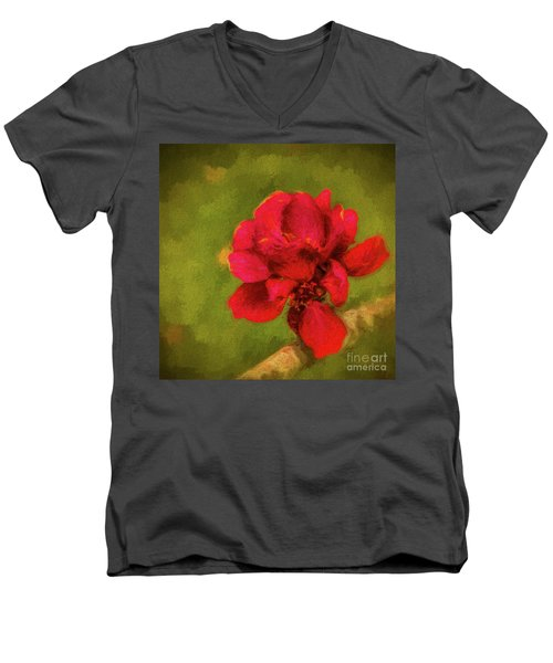 In Bloom Men's V-Neck T-Shirt