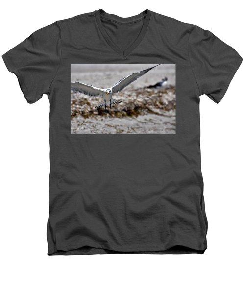 In Coming Men's V-Neck T-Shirt