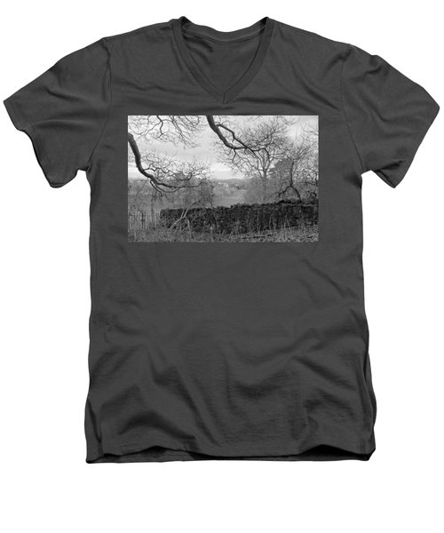 In December. Men's V-Neck T-Shirt
