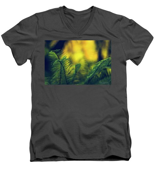 In-fern-o Men's V-Neck T-Shirt