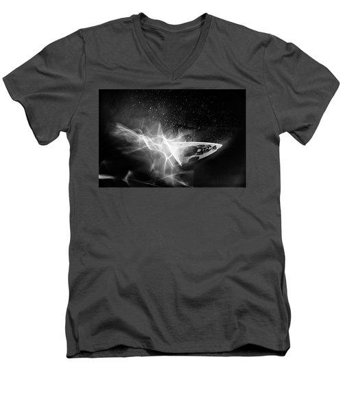 In Flames Men's V-Neck T-Shirt