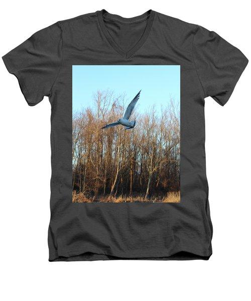 In Flight Men's V-Neck T-Shirt