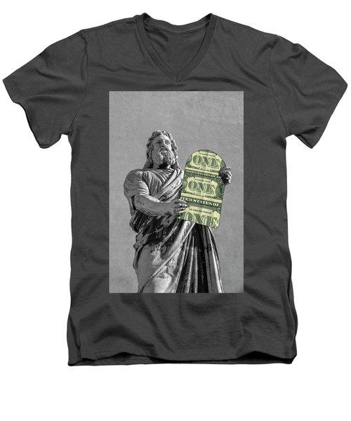 In God We Trust Men's V-Neck T-Shirt