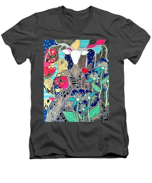 In Her Element Men's V-Neck T-Shirt