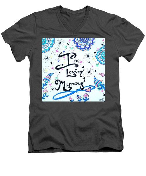 In Loving Memory Men's V-Neck T-Shirt