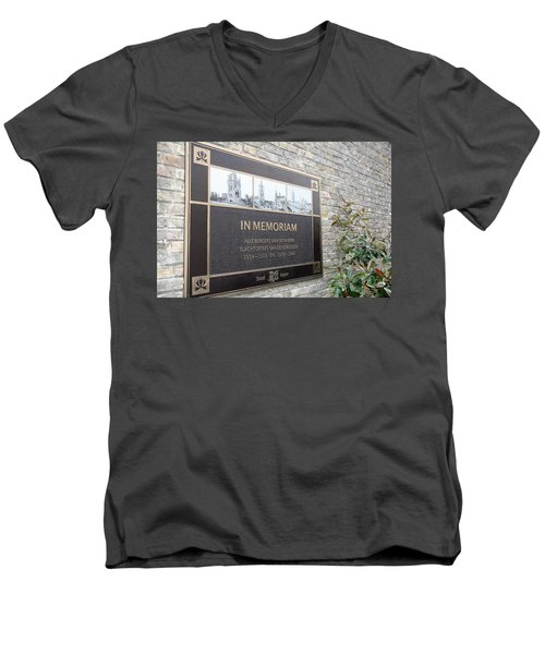 In Memoriam - Ypres Men's V-Neck T-Shirt