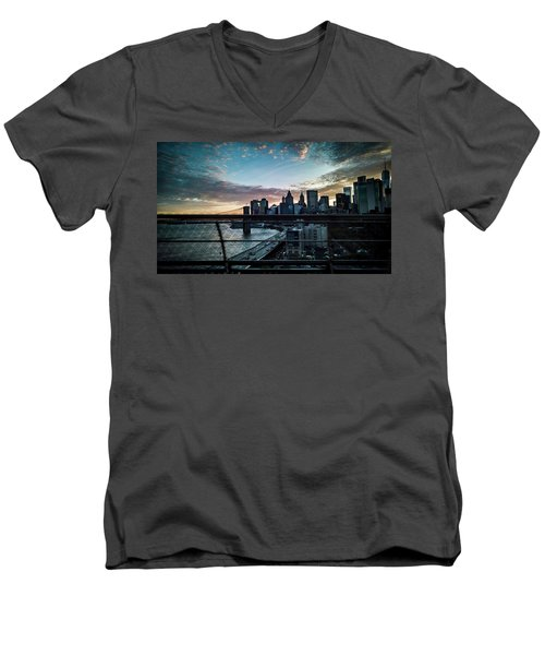 In Motion Men's V-Neck T-Shirt
