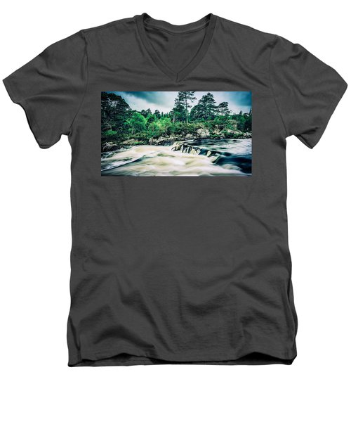 In Retreat Men's V-Neck T-Shirt