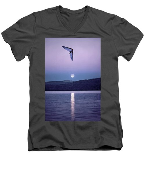 In The Air Tonight Men's V-Neck T-Shirt