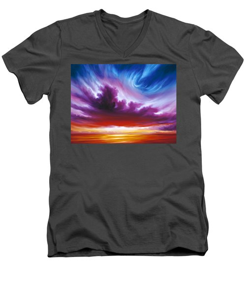 In The Beginning Men's V-Neck T-Shirt