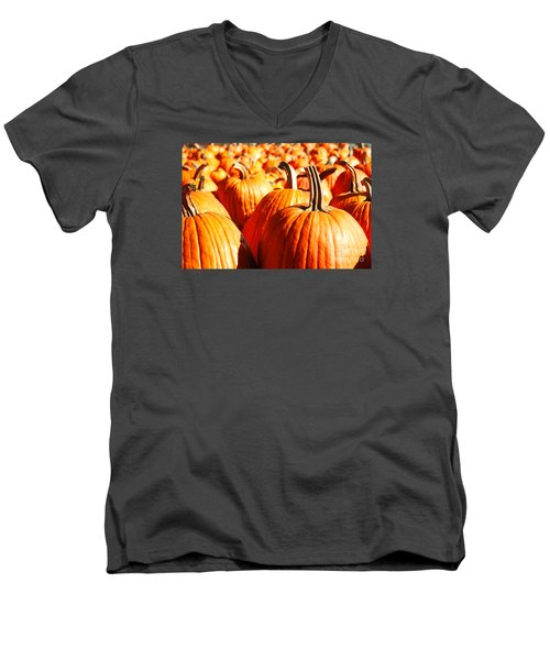 Men's V-Neck T-Shirt featuring the photograph In The Days Still Left  by Dana DiPasquale