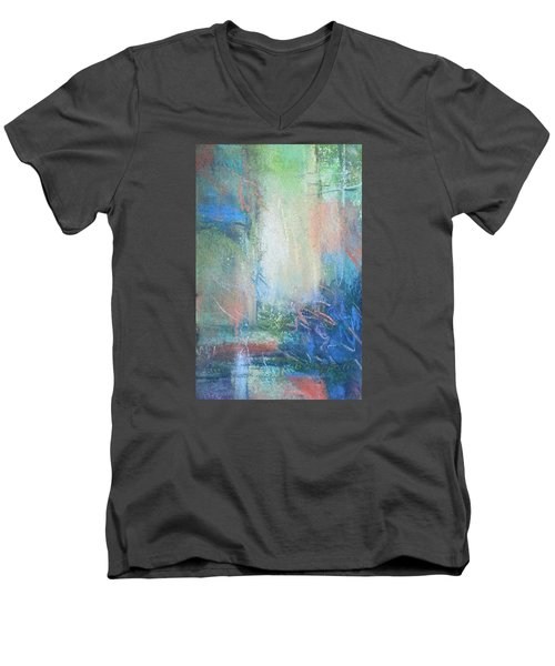 In The Depths Men's V-Neck T-Shirt by Becky Chappell
