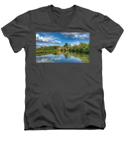In The Dream Men's V-Neck T-Shirt by Isabella F Abbie Shores FRSA