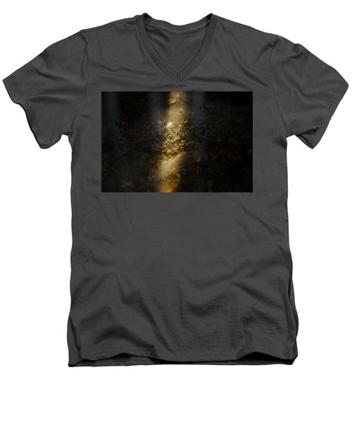 Men's V-Neck T-Shirt featuring the photograph In The Light by Cendrine Marrouat