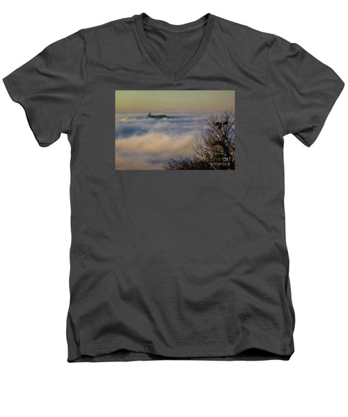 In The Mist 1 Men's V-Neck T-Shirt