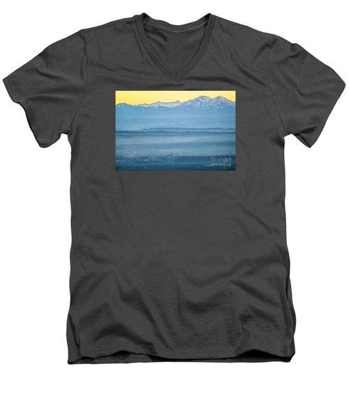 In The Mist 4 Men's V-Neck T-Shirt