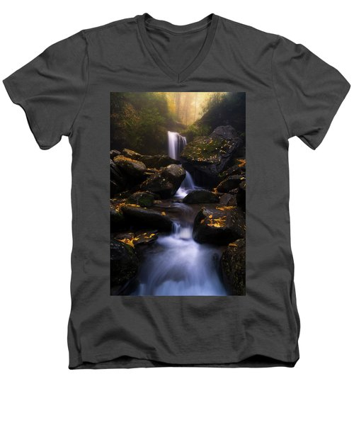 In The Mist Men's V-Neck T-Shirt