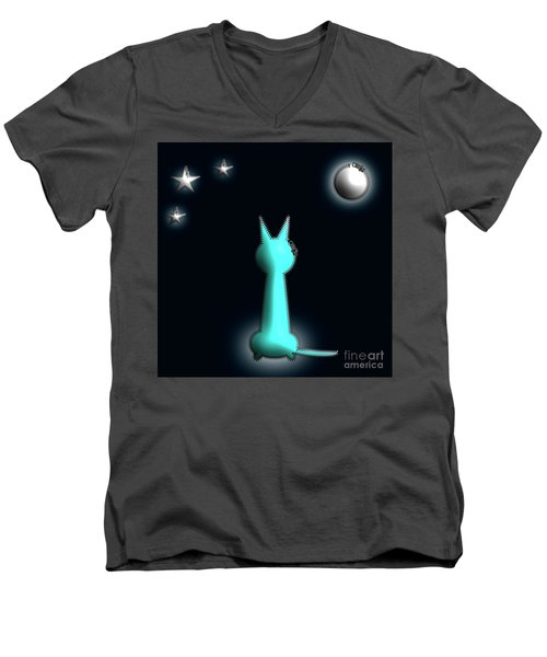 In The Moonlight Men's V-Neck T-Shirt