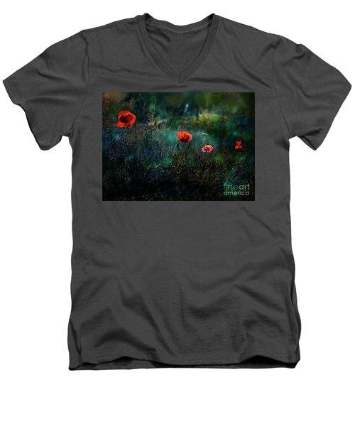 In The Morning Men's V-Neck T-Shirt