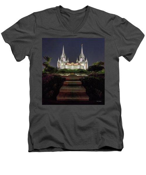 In The Name Of Their Faith Men's V-Neck T-Shirt
