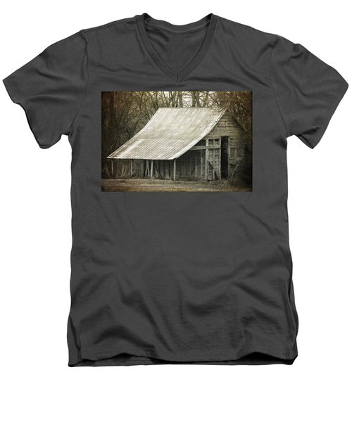 In The Niche Of Time Men's V-Neck T-Shirt