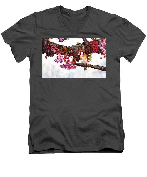 In The Pink 2 Men's V-Neck T-Shirt