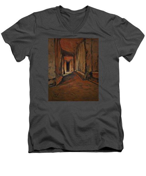 l'Origine de Maestricht Sint Pieter Maastricht  Men's V-Neck T-Shirt by Nop Briex