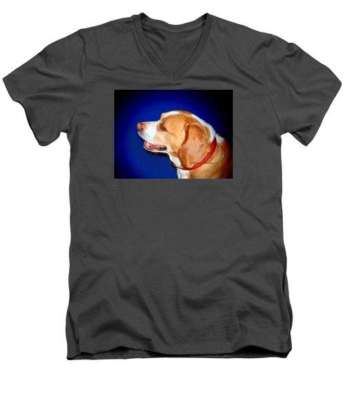 In The Spotlight Men's V-Neck T-Shirt