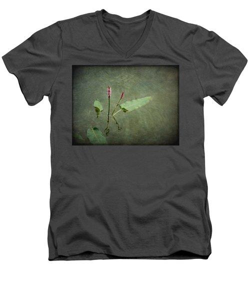 In The Stillness... Love Whispers My Name Men's V-Neck T-Shirt