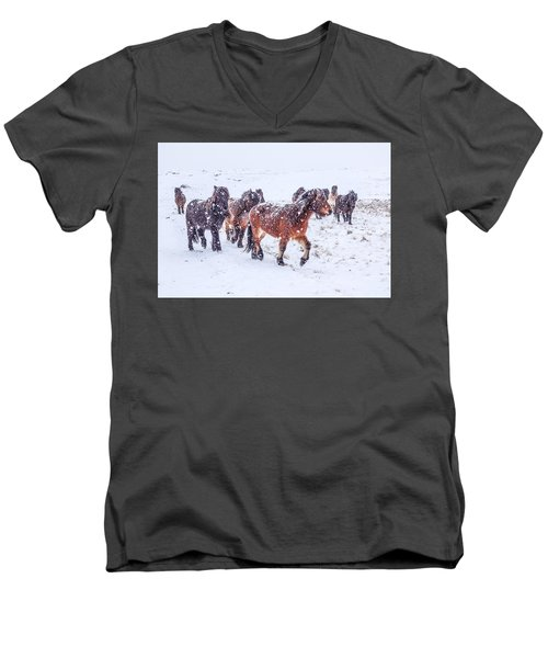 In The Storm 2 Men's V-Neck T-Shirt