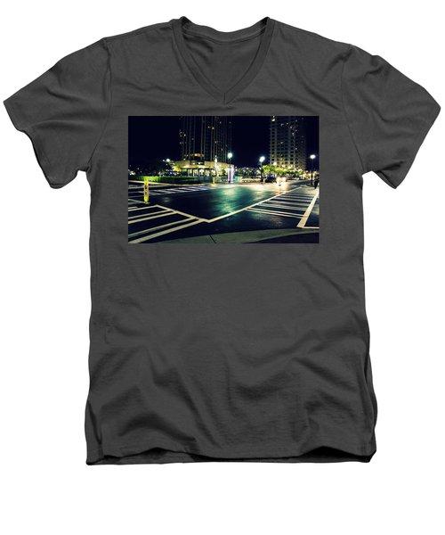 In The Street Men's V-Neck T-Shirt