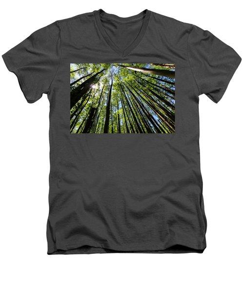 In The Swamp Men's V-Neck T-Shirt by Menachem Ganon